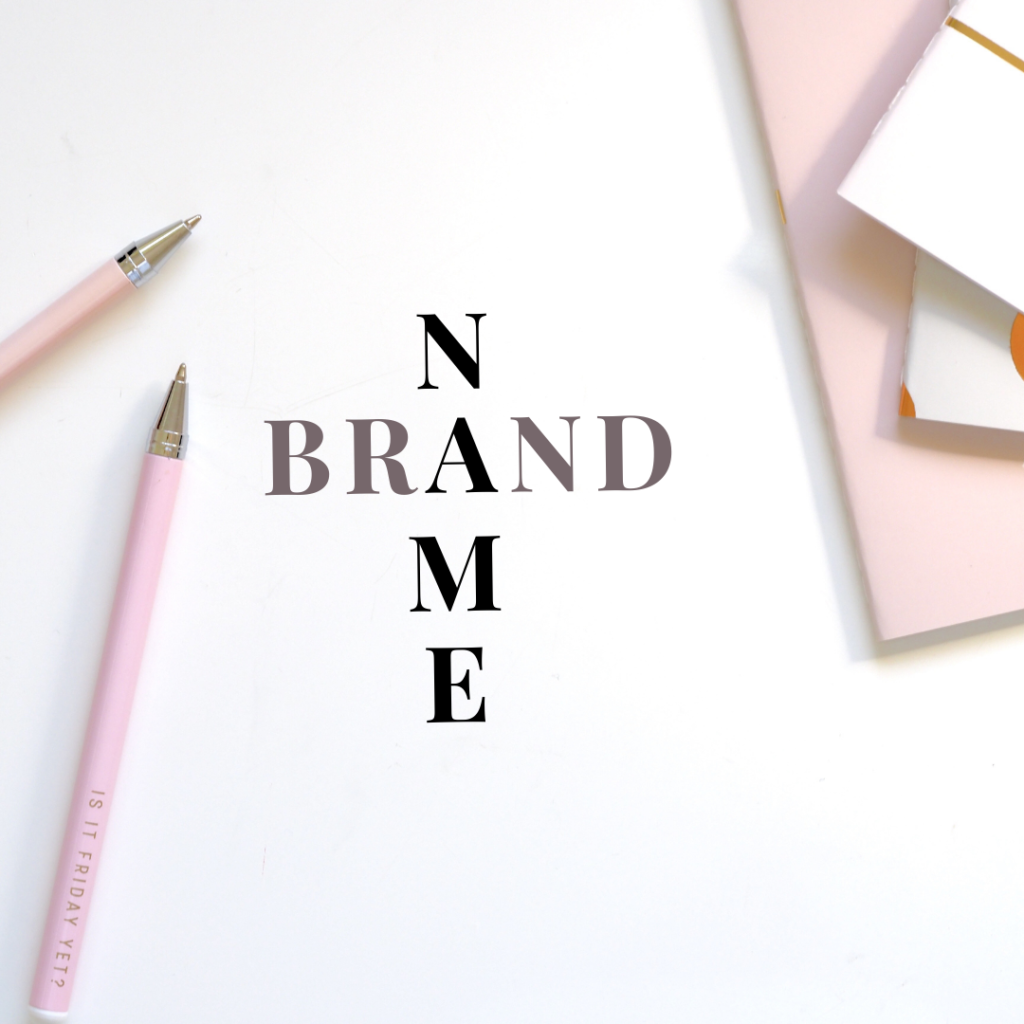 Den perfekten Markennamen finden und anmelden – so geht's